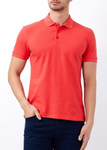 ADZE - Erkek Mercan Slim Fit Basic Polo Yaka Tişört