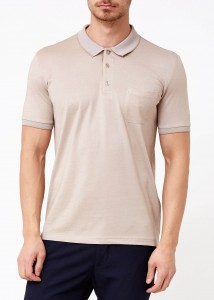 ADZE - Safari Erkek Slim Fit Polo Yaka Tişört
