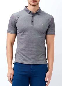 ADZE - Erkek Siyah Basic Polo Yaka T-shirt