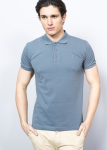 Grey Polo Men's Pique Shirt