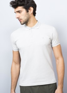 ADZE - Grey Polo Men's Pique Polo Shirt