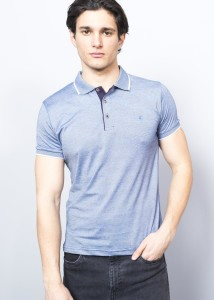 BLUE MEN'S SUPREME POLO SHIRT