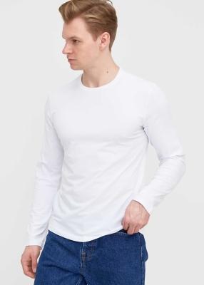 ADZE TOPTAN - Toptan Erkek Beyaz Bisiklet Yaka Battal Sweatshirt