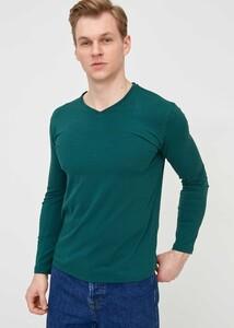 ADZE - Erkek Hunter V Yaka Uzun Kol Basic Sweatshirt